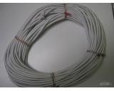 Pružné gumové lano 8mm / 50m návin - smetanová