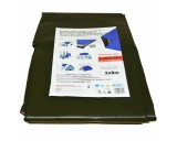 Plachty 5x6m - SUPER 200gr/1m2 olivová