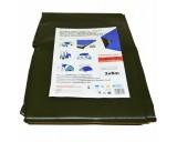 Plachty 6x10m - SUPER 200gr/1m2 olivová
