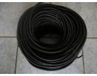 Pružné gumové lano 8mm / 50m návin - černá