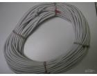 Pružné gumové lano 8mm - smetanová