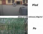 Stínící síť PloteS 70% stínivost, výška 1,8m - bm