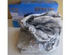Stříbrná ochranná plachta na čtyřkolku - velikosti dle nabídky