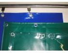 Výroba dílenských závěsů z PVC plachtoviny